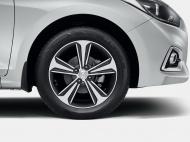 Колесный диск легкосплавный R16  52910H5200 для Hyundai Solaris 2017-