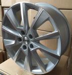 Диск колесный Carwel Чаны 1802 7xR18 5x112 ET43 ЦО57.1 серебристый с полированной лицевой частью 97854