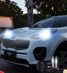 Ксеноновые лампы в передние фары  для KIA Sportage IV 2016 -