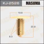 Клипса автомобильная (автокрепеж), уп. 50 шт. Masuma KJ-2526