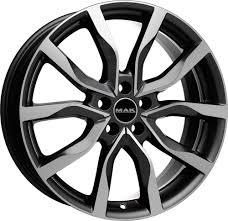 Диск колесный MAK Highlands 9xR21 5x108 ET38,5 ЦО63,4 серый с полированной лицевой частью F9021HIQM39GDX