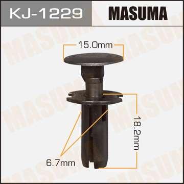 Клипса автомобильная (автокрепеж), 1 шт., Masuma KJ-1229