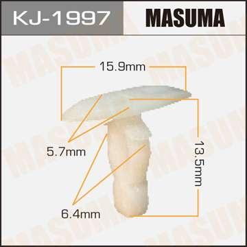 Клипса автомобильная (автокрепеж), 1 шт., Masuma KJ-1997