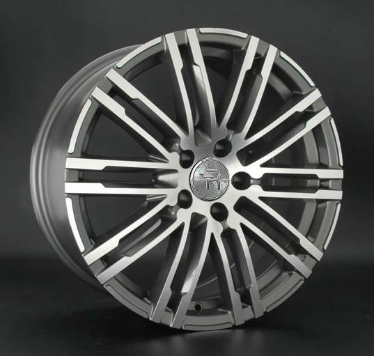 Диск колесный REPLAY PR13 9xR19 5x112 ET21 ЦО66,6 серый глянцевый с полированной лицевой частью 032267-070083006