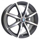 Диск колесный Venti 1 615 6,5xR16 5x114,3 ET40 ЦО66,1 чёрный с полированной лицевой частью rd833013