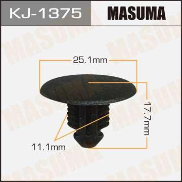 Клипса автомобильная (автокрепеж), 1 шт. Masuma KJ-1375