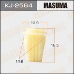 Клипса автомобильная (автокрепеж), уп. 50 шт. Masuma KJ-2564