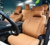 Чехлы на сиденья с подголовниками (полиуретан) для Nissan Murano ( 2016 - по н.в. )