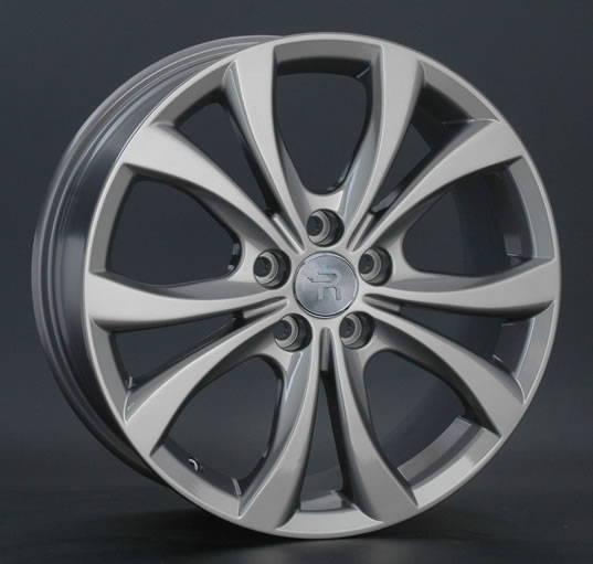 Диск колесный REPLAY MZ22 7,5xR18 5x114,3 ET54 ЦО67,1 серый темный глянцевый 043601-430114004