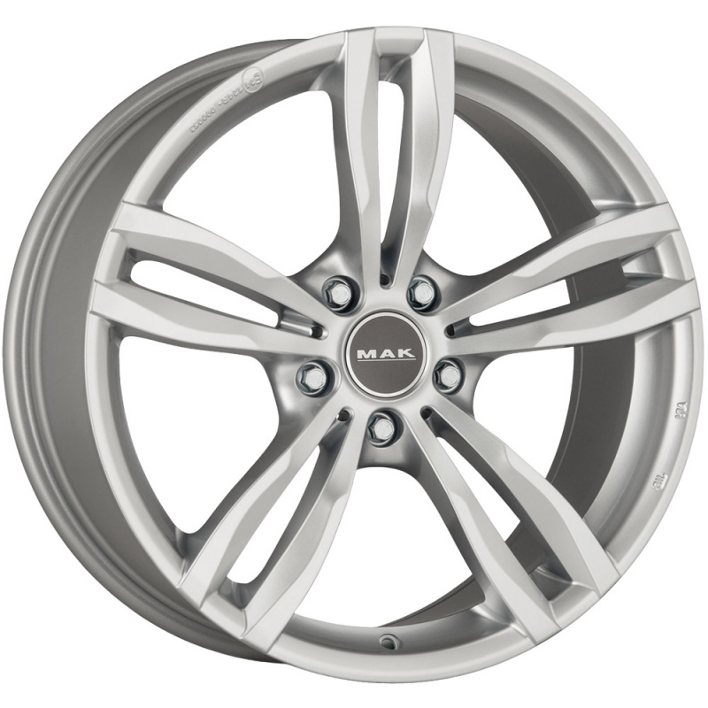 Диск колесный MAK Luft 7,5xR18 5x120 ET45 ЦО72,6 серебристый F7580LFSI45I4BX