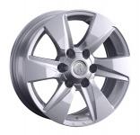 Диск колесный Replay TY311 7.5xR17 6x139.7 ET25 ЦО106.1 серебристый 081570-160038007