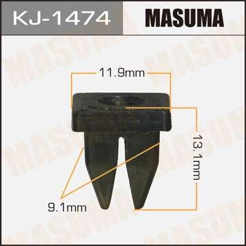 Клипса автомобильная (автокрепеж), уп. 50 шт. Masuma KJ-1474