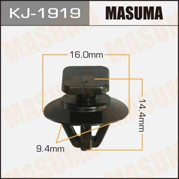 Клипса автомобильная (автокрепеж), 1 шт., Masuma KJ-1919