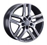 Диск колесный Replay TY314 7xR17 5x114.3 ET45 ЦО60.1 серый глянцевый с полированной лицевой частью 081576-160120004