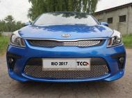 Решетка радиатора нижняя (лист) TCC KIARIO17-14 Kia Rio 2017-