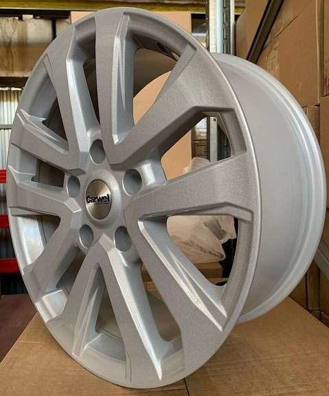 Диск колесный Carwel Силач 2003 8,5xR20 5x150 ET58 ЦО110,1 серебристый 31307