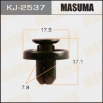 Клипса автомобильная (автокрепеж), 1 шт., Masuma KJ-2537