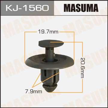 Клипса автомобильная (автокрепеж), уп. 50 шт. Masuma KJ-1560