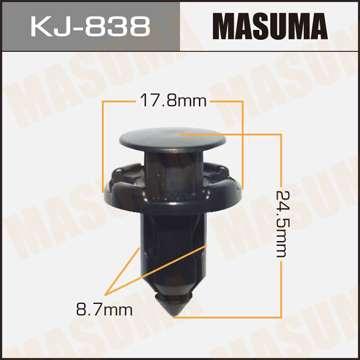 Клипса автомобильная (автокрепеж), уп. 50 шт. Masuma KJ-838