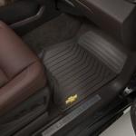 Коврики салона передние (резиновые,черные) 23452760 для Chevrolet Tahoe IV 2015-