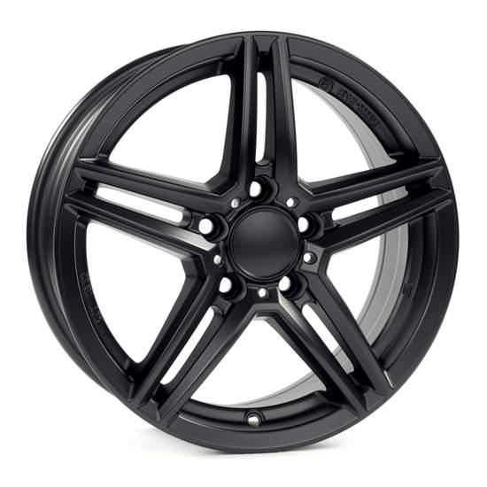 Диск колесный Rial M10 8xR18 5x112 ET38 ЦО66,5 черный матовый M10-80838M14-5
