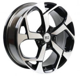 Диск колесный RST R067 7xR17 5x114.3 ET35 ЦО67.1 черный с полированной лицевой частью rd833550