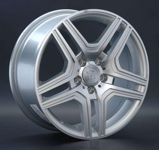 Диск колесный REPLAY MR67 8,5xR19 5x112 ET60 ЦО66,6 серебристый с полированной лицевой частью 016417-160060006