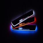 Накладки на пороги с LED подвеской Osram для AUDI Q7 2016 -