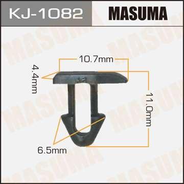 Клипса автомобильная (автокрепеж), уп. 50 шт. Masuma KJ-1082