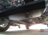 Защита картера, алюминий (V-все, кроме Outlander XL V- 3.0) АВС-Дизайн 14.07ABC для Mitsubishi Lancer 2007 -