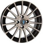 Диск колесный Venti 1506 6xR15 4x100 ET45 ЦО56.6 чёрный с полированной лицевой частью rd831732