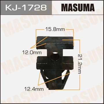Клипса автомобильная (автокрепеж), уп. 50 шт. Masuma KJ-1728