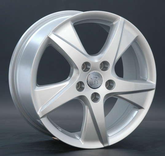 Диск колесный Replay H24 7,5xR17 5x114,3 ET55 ЦО64,1 серебристый 000409-430121003