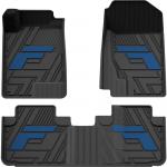 Высококачественные термопластиковые коврики 3W TPE для Haval F7 (Хавал Ф7)