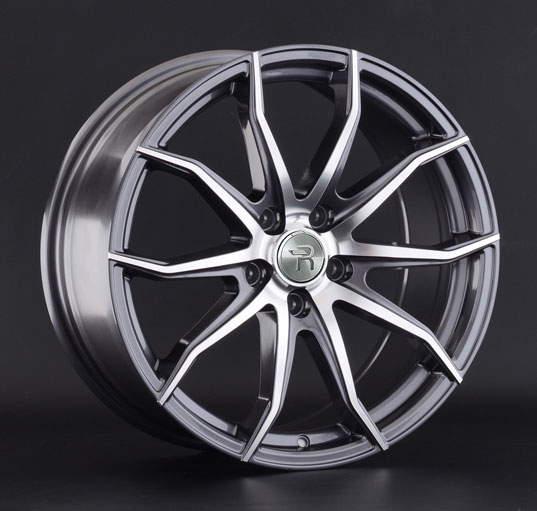 Диск колесный REPLAY FD135 8xR18 5x114,3 ET44 ЦО63,3 серый глянцевый с полированной лицевой частью 042210-160603016