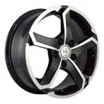 Диск колесный NZ SH665 5.5xR14 4x100 ЕТ49 ЦО56.6 серебристый темный 9129316