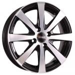 Диск колесный Tech-Line 634 6xR16 4x114,3 ET45 ЦО67,1 чёрный с полированной лицевой частью rd831019