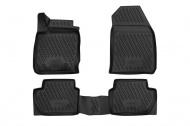 Коврики 3D в салон (черный полиуретан) Format FORMAT.CARFRD00025k Ford EcoSport 2014-