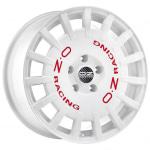 Диск колесный OZ Rally Racing 8xR17 5x114.3 ET45 ЦО75.0 гоночный белый с красными буквами W01A3320633