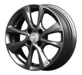 Диск колесный СКАД Ницца 5.5xR14 4x100 ET35 ЦО67.1 серый темный матовый 2950127