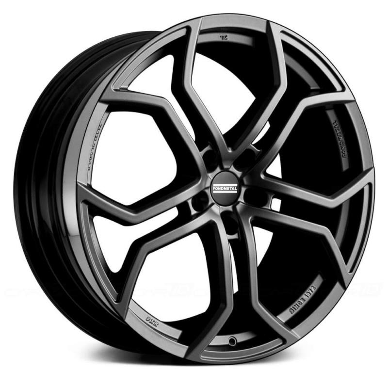 Диск колесный Fondmetal 9XR 9xR20 5x130 ET55 ЦО71,6 серый темный матовый 9XR J9020555130ATE1
