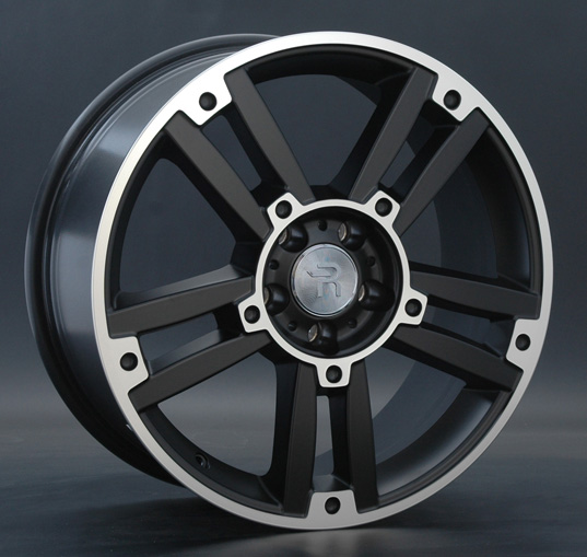 Диск колесный REPLAY MR81 7,5xR19 5x112 ET47 ЦО66,6 черный матовый с полированной лицевой частью 012979-050060011