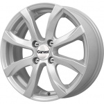 Диск колесный Carwel Омикрон 110 6xR15 4x100 ET50 ЦО60.1 серебристый металлик 101618