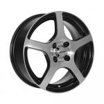 Диск колесный X'trike X-118 6xR15 4x100 ET45 ЦО67.1 черный полностью полированный 28141