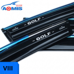 Дефлекторы боковых окон AOMIS для Volkswagen Golf VIII (Фольксваген Гольф) 2018 - 2019