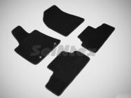 Коврики салона текстильные на резиновой основе LUX, черные (кроме версий с гибридным двигателем) Seintex 82431 Lexus RX 2003 - 2009