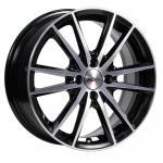 Диск колесный X'trike X-129 6.5xR16 4x100 ЕТ45 ЦО67.1 черный полированный 74331