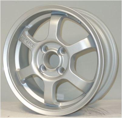 Диск колесный RST R015 6xR15 4x100 ET46 ЦО54,1 серебристый  RR015-615-541-4x100-46SL