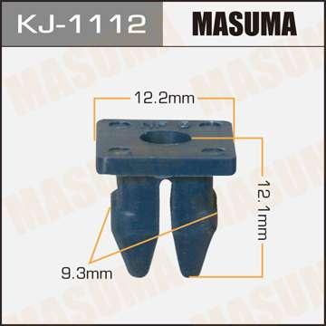 Клипса автомобильная (автокрепеж), уп. 50 шт. Masuma KJ-1112