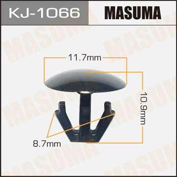Клипса автомобильная (автокрепеж), уп. 50 шт. Masuma KJ-1066
